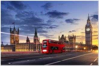Красивые автобусы Лондона