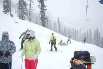 Горная Шория лыжи и только лыжи