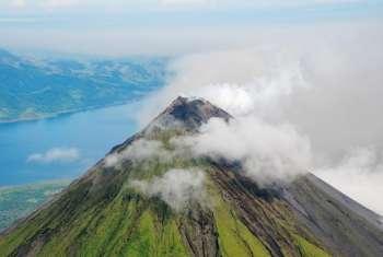 спящим вулканом Ареналь
