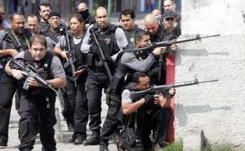 Мафия, полиция Бразилии